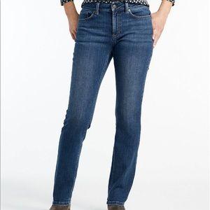 NWOT L.L. Bean Favorite Fit Jeans